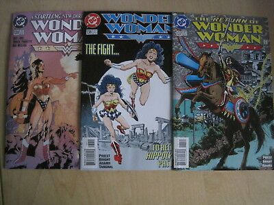 "WONDER WOMAN issues 137,138,139, ""The RETURN of"" : COMPLETE 3 ISSUE STORY ARC"