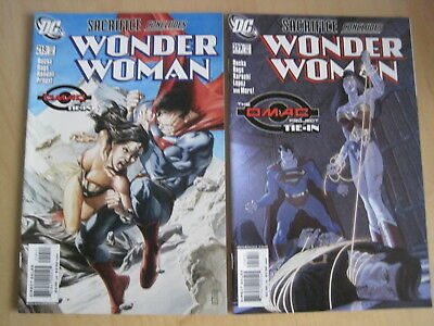 WONDER WOMAN issue 219 : SET of BOTH BEAUTIFUL COVERS. DC. 2005