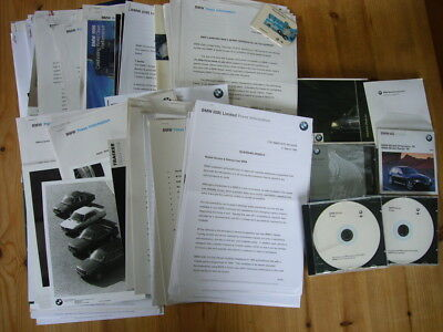 BMW: enormous archive job lot of press releases, CDs & photos 1980s-2000s, great