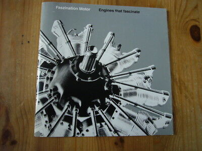 BMW: Engines That Fascinate history press booklet, 1990s, very good condition