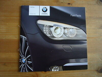 BMW: Fast Facts press booklet, 2008, excellent condition, rare