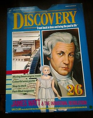 Marshall Cavendish Discovery - Pack 26 James Watt & The Industrial Revolution