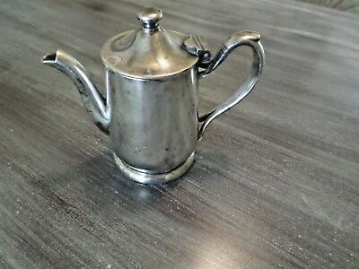 Victor S Co 8 OZ Individual Silver Plate Tea Pot R0120 - 64