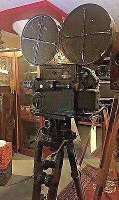 AKELEY Western Electric AUDIO Amp & Mic  35mm PARAMOUNT NEWSREEL Camera System.