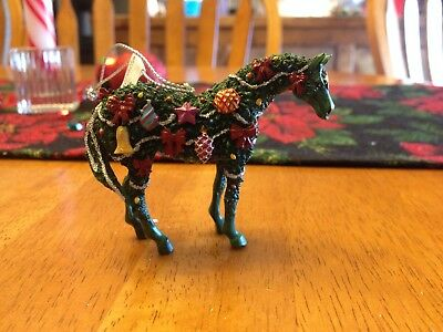 2005 #12326 Trail of Painted Ponies Christmas Ornament Deck the Halls Retired