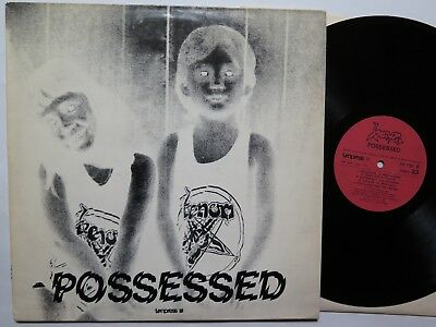 VENOM - Possessed LP 1985 Tonpress SX-T92