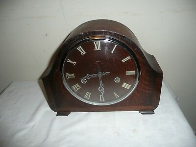 Antique Smiths ,Westminster Chimes Mantle Clock , Good Condition & Working.