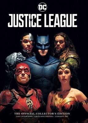 Justice League: Official Collector's Edition by Samuel Titan (Hardback, 2017)