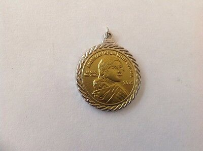 Sacagawea American Indian Relief Council 2015 Coin Pendant