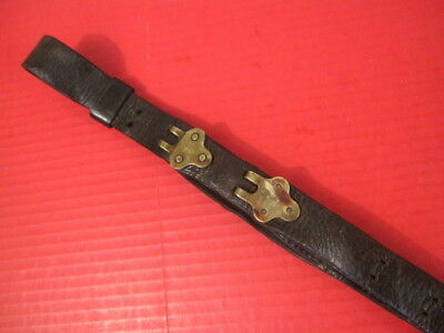WWI Era US ARMY AEF M1907 Leather Sling M1903 Springfield Rifle - No marking #5