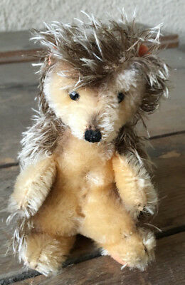 Steiff Mohair Hedgehog Porcupine 1946-1969 Vintage No Tags Collectible Darling