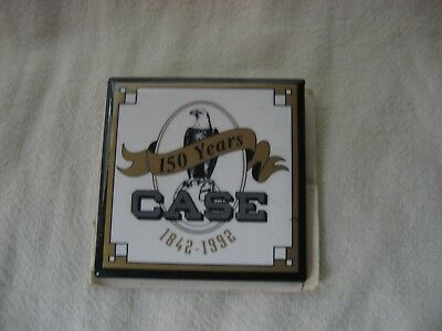 J.I. Case 150 years 1842-1992 Square Pin New