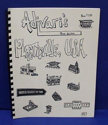 Adavaris Plasticville USA Price Guide 1993 Includes variations New