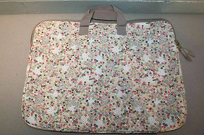 Thirty One 31 Calico FREE SPIRIT DITZY Computer LAPTOP TABLET Bag CASE Retired