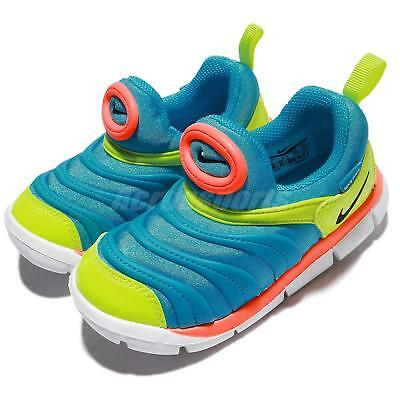 Nike Dynamo Free TD LT Blue Volt Toddler Infant Baby Shoes Sneakers 343938 -423 8a30e9667