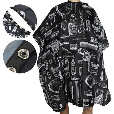 Salon Waterproof Hair Cut Hairdressing Barbers Cape Gown Adult/Kid Cloth XG7