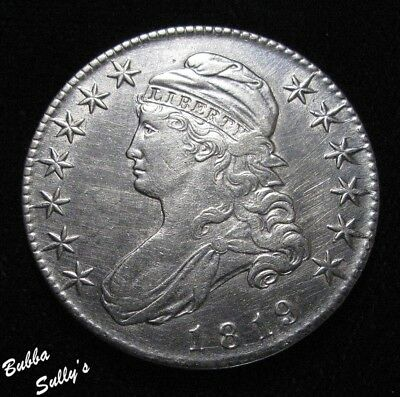 1919 Capped Bust Half Dollar <> XF Details