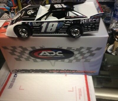 2017 SCOTT BLOOMQUIST #18 1:24  ADC DIRT LATE MODEL 1/600 throwback rare