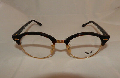 0eb7a4d99a4 AUTHENTIC RAY BAN RB4246V-2372 Red Tortoise Eyeglass Frame 49 19 140 ...