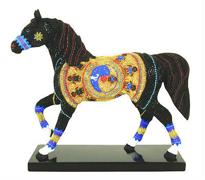 Trail of Painted Ponies NAVAJO BLACK BEAUTY FIGURINE New in Box, 1st Edition