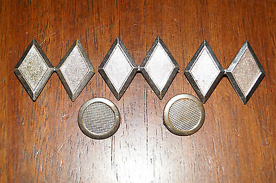 Lot of 5 Civil Air Patrol Auxiliary USAF Pinback Pin Antique