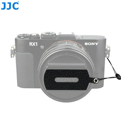 JJC Leather Stickup Lens Cap Keeper Cover Holder String Rope fr Sony RX1 RX1R II
