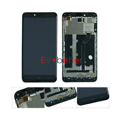 NY For ZTE ZMax Pro Z981 LCD Display Touch Screen Digitizer Replacement +Frame