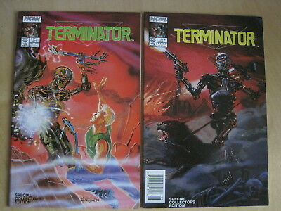 """Terminator """"all My Futures Past"""", Special Editn Complete 2 Issue 1990 Now Series"""