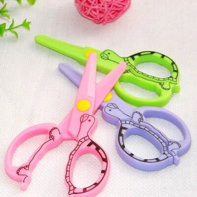 Children's Handcraft Toys Quality Safety Scissors Paper Cutting Plastic Scissors