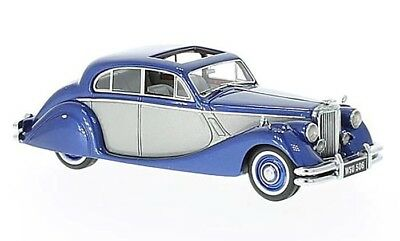 Neo Models 1:43 1950 Jaguar MK V in Blue and Silver