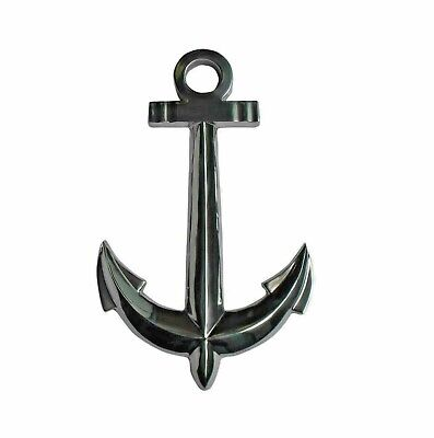 Metal Ship Anchor Set of 2 Maritime Wall Hanging 24 in & 17.5 in HOME DECOR EDH
