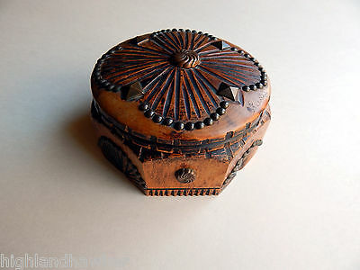 Rare Early 1900's French Wooden Box By J. Perard