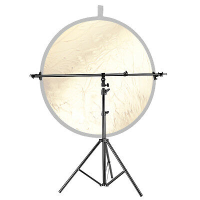 Neewer Studio Alluminum Alloy Light Stand with Reflector Holder Arm Crossbar