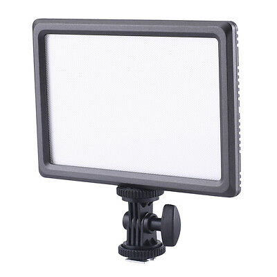 Neewer Ultra Thin 112-LED Dimmable Video Light Pad for for Canon Nikon Pentax