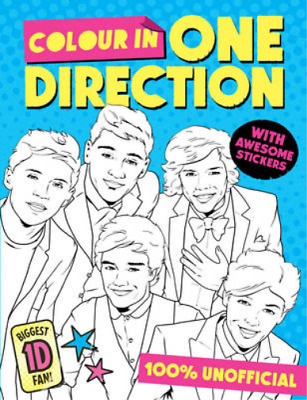 Colour in One Direction! (Colouring Book), , Used; Very Good Book