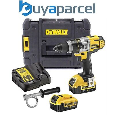 Dewalt DCD985M2 18v XR 3 Speed Li-Ion Combi Hammer Drill Lithium + 2 x 4.0ah