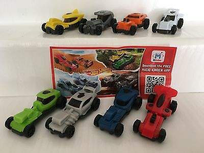 kompl. Satz ** Hot Wheels ** ( FF 172A - FF 179A ) + 8 BPZ