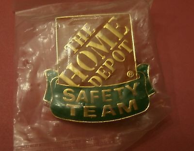 The Home Depot SafteyTeam -  Lapel Pin New