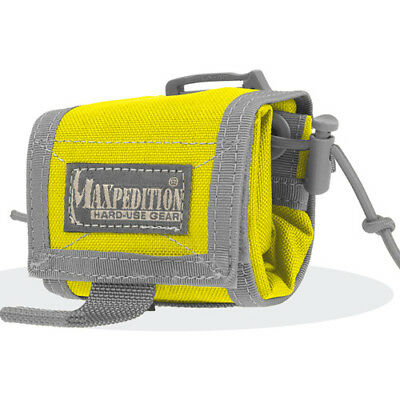 Maxpedition Rollypoly Folding Unisex Pouch Dump - Safety Yellow One Size