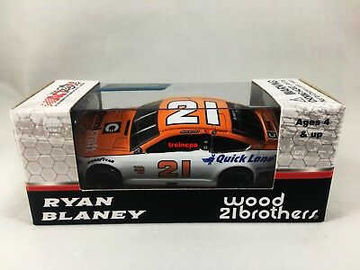 Ryan Blaney 2017 Lionel/Action #21 Omnicraft Ford Fusion 1/64 FREE SHIP