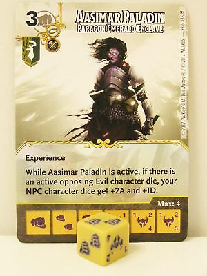 Dice Masters - 1x #093 Aasimar Paladin Paragon Emerald Enclave - D&D Tomb of Ann