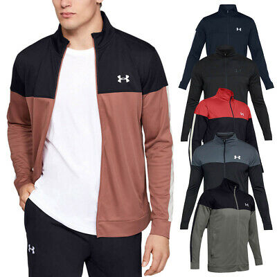 Under Armour Mens 2019 Sportstyle Pique Sports Training Full Zip Track Jacket