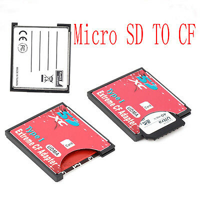 SDXC SDHC SD High Speed to CF Compact Flash Memory Card Reader Adapter Type I