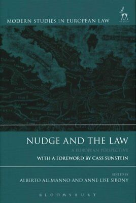 Nudge and the Law A European Perspective by Alberto Alemanno 9781849467322