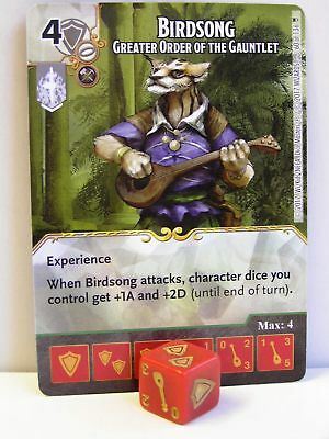 RARE Uncommon CUR 4 dice D/&D Dice Masters Tomb of Annihilation BIRDSONG