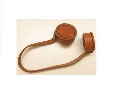 leather lens cap cover 4 German Ajack 4X90 sniper scope