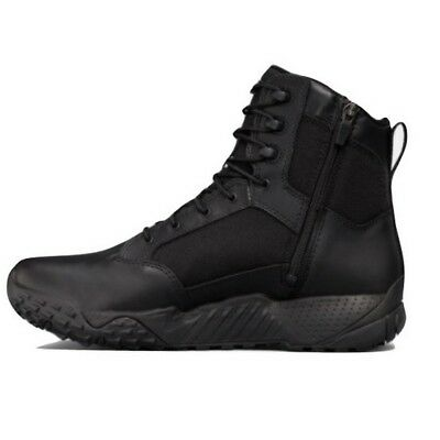 Under Armour 1303129 Men's UA Stellar Tactical Size-Zip Leather Boots Size 8-14