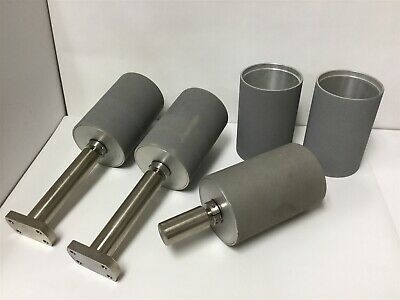 "Lot of 3 Rollers With 2 Extra Roller Covers, Dimensions: 4"" Diameter x 6"" Long"