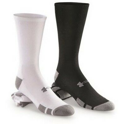 Under Armour 1282435 Men's UA Resistor III Crew Socks Pack of 6 Size M-XL