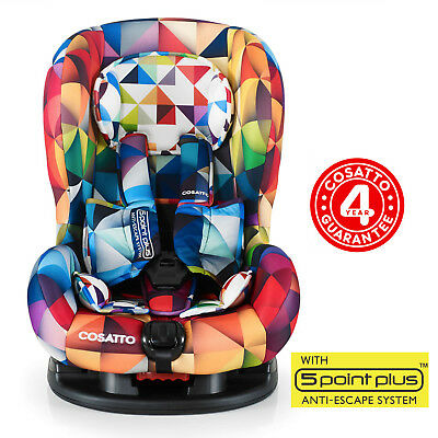 New Cosatto Moova 2 Group 1 Baby Car Seat Childs Carseat Spectroluxe